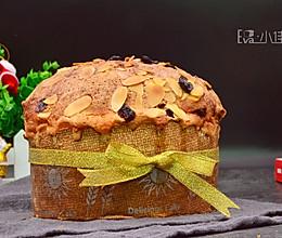 #令人羡慕的圣诞大餐#圣诞面包潘妮托尼的做法