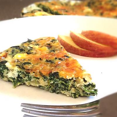 意式菠菜烘蛋 Frittata