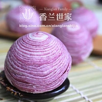 [香兰世家]掌心里的爱--紫薯蛋黄酥