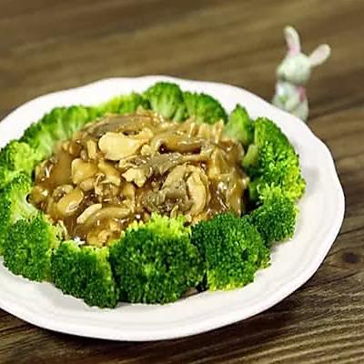 【微体】营养平衡 | 平菇扣西兰花
