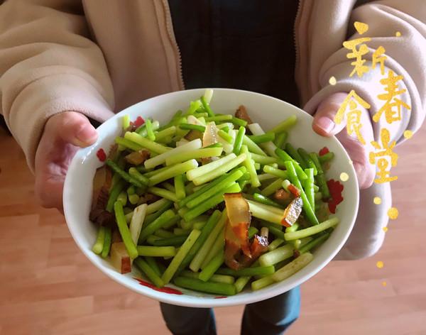 腊肉炒菜合集的做法