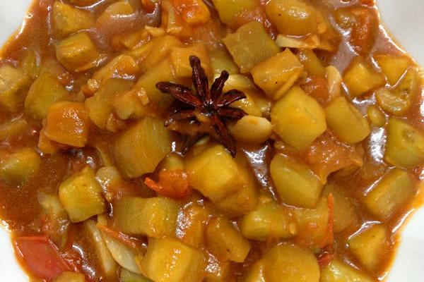西红柿熬茄子的做法