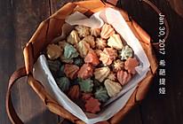 彩色蛋白糖的做法