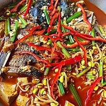 香辣诱惑-鱼头炖豆腐