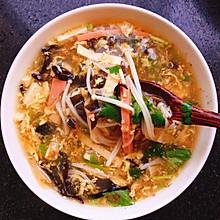 家常美味酸辣汤,喝三碗都不够