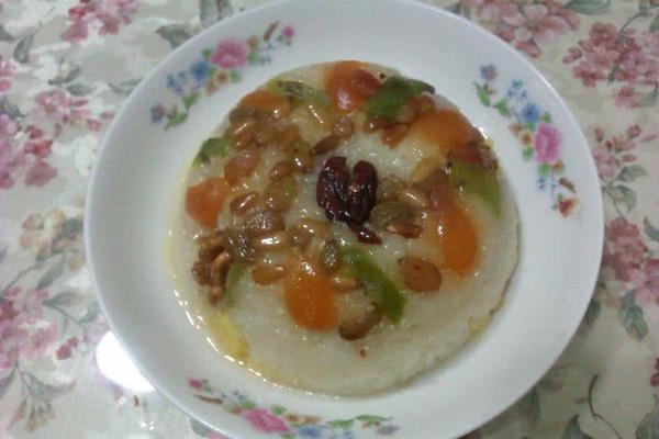 重油重糖老上海五彩八宝饭的做法
