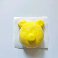 可爱的小熊南瓜糯米糕的做法图解4