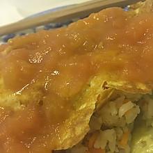茄汁蛋包饭(附酸酸甜甜的番茄酱做法哦