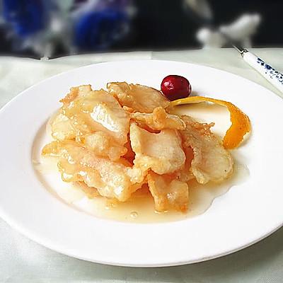 上海年夜饭必备--柠香鱼片的做法 步骤13