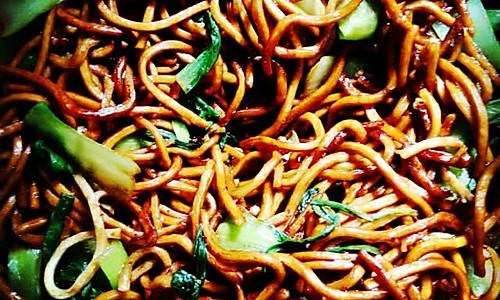 上海炒面的做法