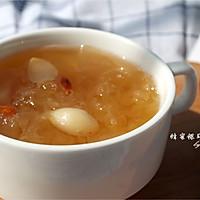 蜂蜜雪梨银耳羹【四季甜品】的做法图解5