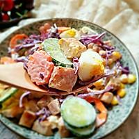 彩虹沙拉――增肌减脂两不误的健身餐的做法图解15