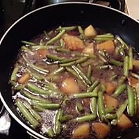 豆角土豆焖意大利面的做法图解6