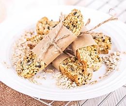 燕麦能量棒   健康低糖低卡的做法