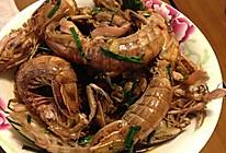 葱姜炒赖尿虾的做法