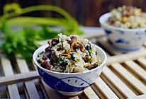 #精品菜谱挑战赛#牛肉芹菜炒饭的做法
