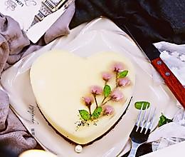 #豆果优食汇#免烤蛋糕——樱花冻芝士蛋糕的做法