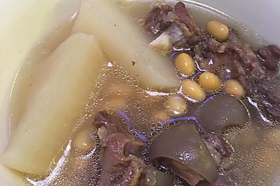黄豆羊肉汤