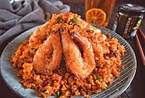 连壳吃掉的避风塘炒虾的做法