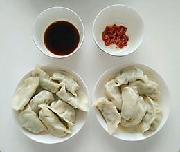 手工青菜猪肉饺子的做法
