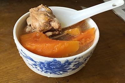 木瓜排骨汤(催乳)