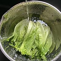 蚝油生菜的做法图解2