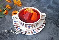 红菜头胡萝卜玉米汤的做法