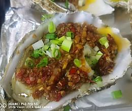 蒜蓉生蚝~烤箱烤生蚝的做法