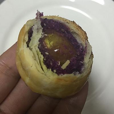 紫薯蛋黄酥(清真)