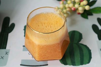 刮油清肠来一杯果醋杏子汁