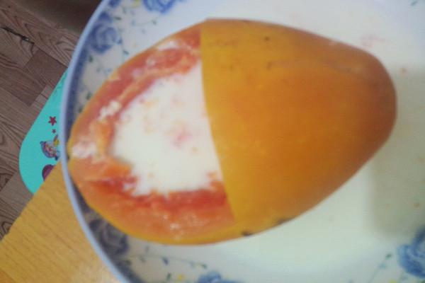 牛奶木瓜的做法
