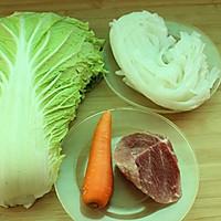 【大喜大牛肉粉试用报告之一】大白菜肉丝炒河粉的做法图解2