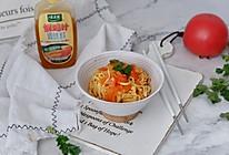 茄汁干丝#太太乐鲜鸡汁蒸鸡原汤#的做法