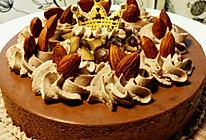 6寸巧克力栗子慕斯蛋糕118的做法