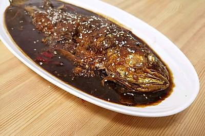 刺少肉多的黄花鱼,红烧味道简直绝了