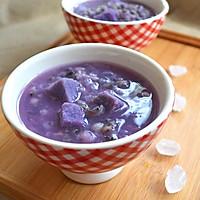 紫参淮山菰米薏仁粥