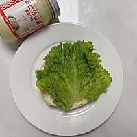#321沙拉日#奥尔良鸡肉汉堡的做法图解4