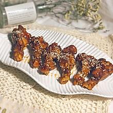 #今天吃什么#好吃到舔盘的美食—蜜汁红烧翅根