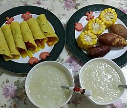 学龄儿童营养早餐的做法