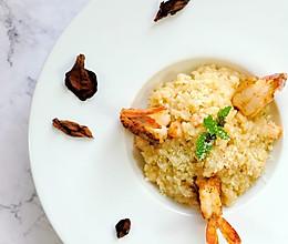 義式鮮蝦燉飯的做法