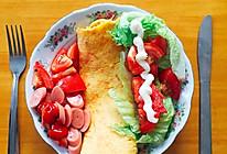 快手早餐萝卜土豆丝煎饼的做法