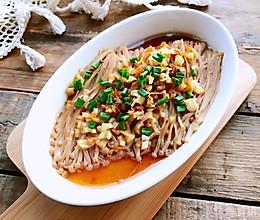 #元宵节美食大赏#蒜香金针菇的做法