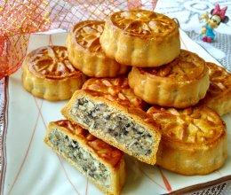 #中秋宴,名厨味# 广式莲蓉五仁月饼的做法