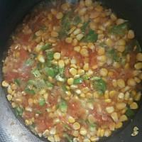 减肥餐  玉米番茄汤的做法图解4