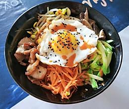 无需石锅的家常版韩式拌饭的做法
