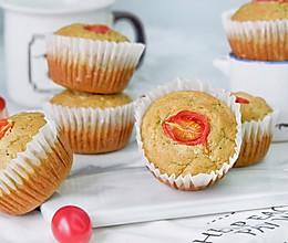 全麦番茄西葫芦咸蛋糕#美味烤箱菜,就等你来做!#的做法