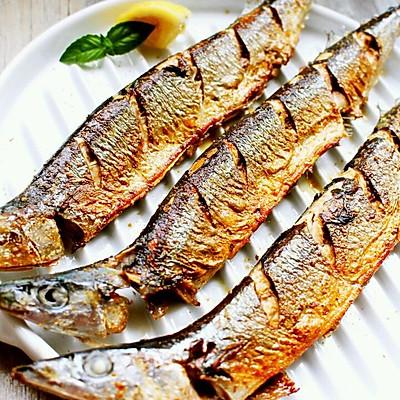 香煎秋刀鱼