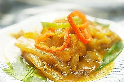 咖喱牛蹄筋丨是金子总会发光的【微体兔菜谱】