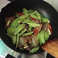 莴笋炒腊肉的做法图解5