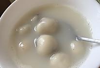 蜂蜜无油版黑芝麻花生汤圆的做法